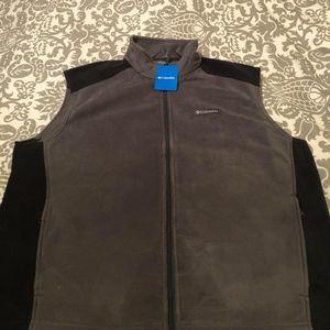 Men's Columbia Fleece Vest